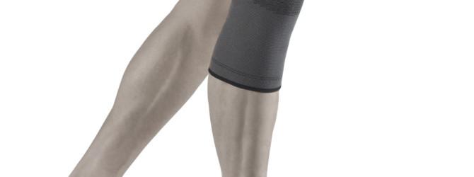 Коленный сустав в повязке