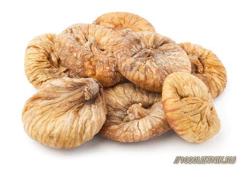 Сушёные плоды инжира