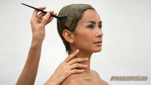 Маска для волос из хны