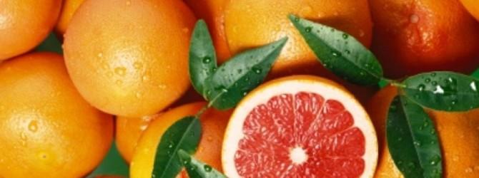 Цитрусовые - грейпфрут