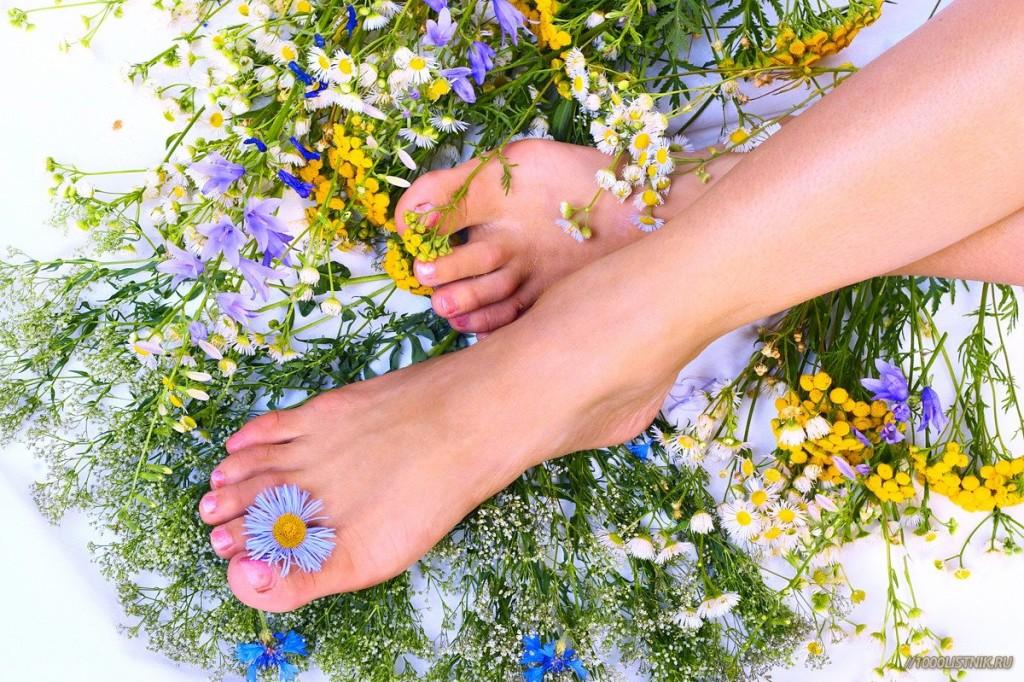 Приятно пахнущие ноги