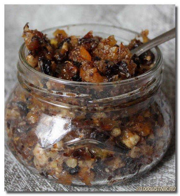 медово-витаминная смесь