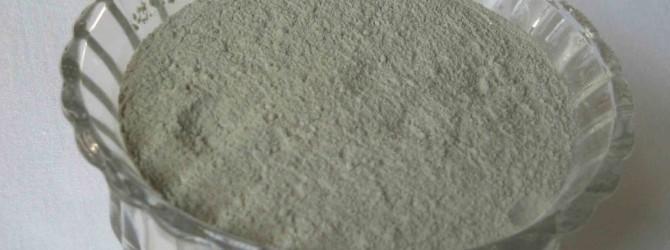 Пудра из белой глины