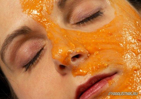 маска из тыквы