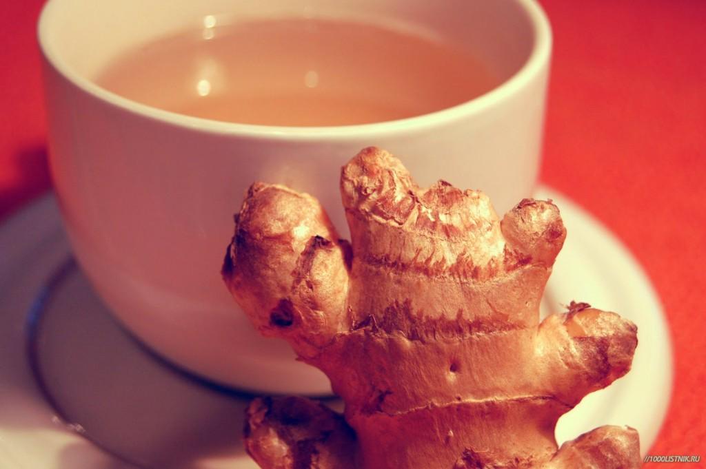имбирно-чабречный чай