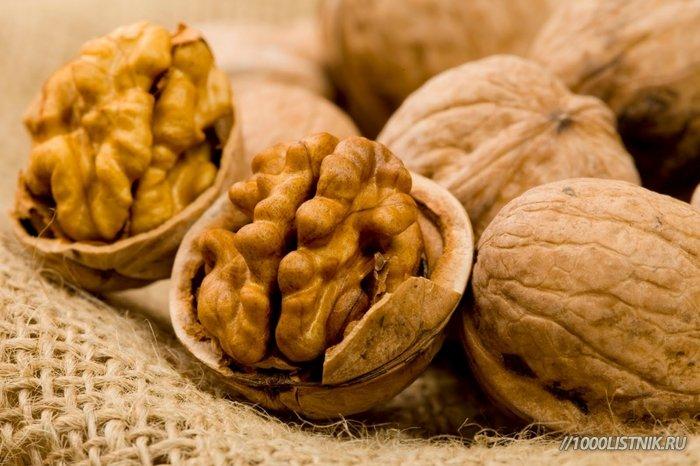 Грецкие орехи для сосудов