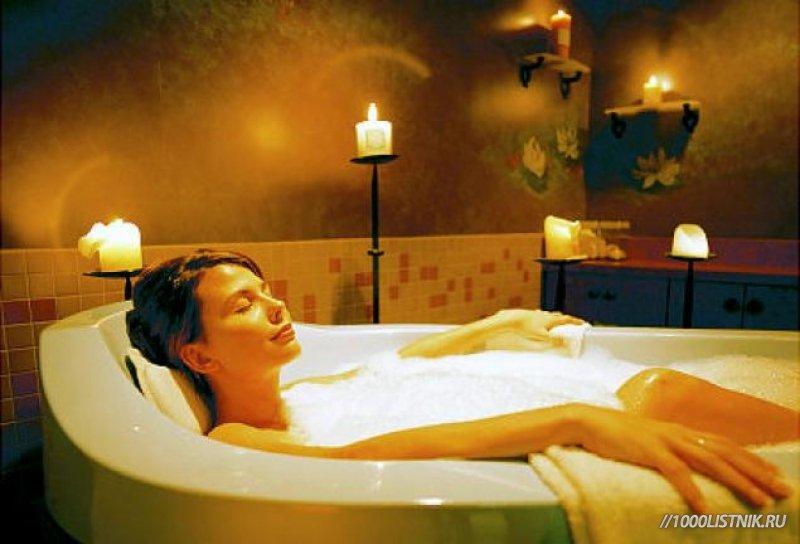 Успокаивающие ванны при климаксе