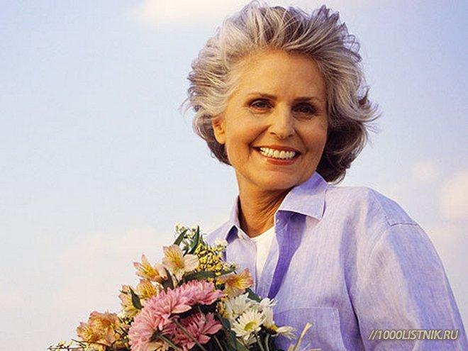 Женщина в возрасте тоже может быть красива