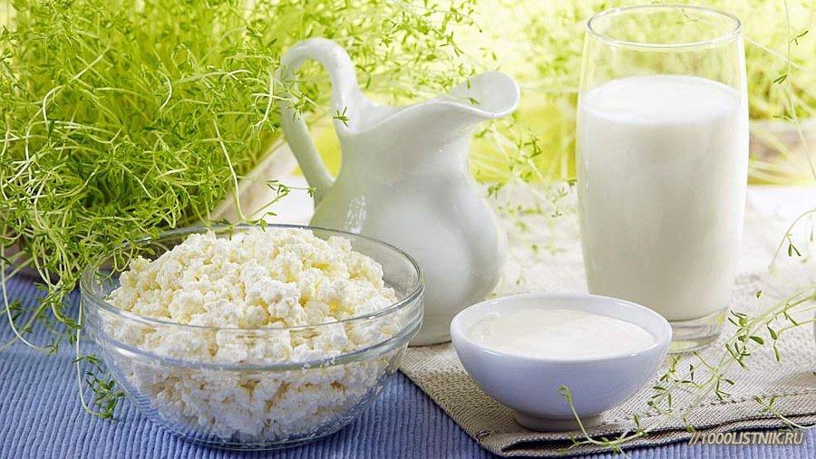 Молочные продукты для здоровья зубов