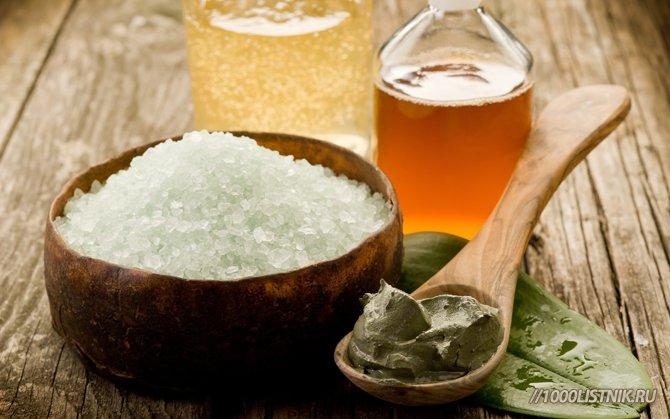 Ингредиенты для масок в бане