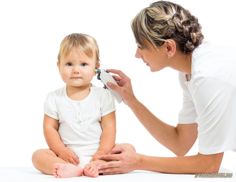Hearing loss and adult otitis media