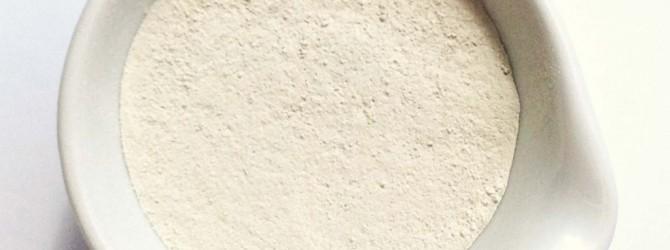 Чашка с белой глиной