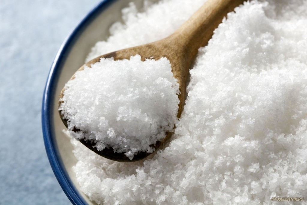 Йодированная соль - помощник при воспалительных процессах