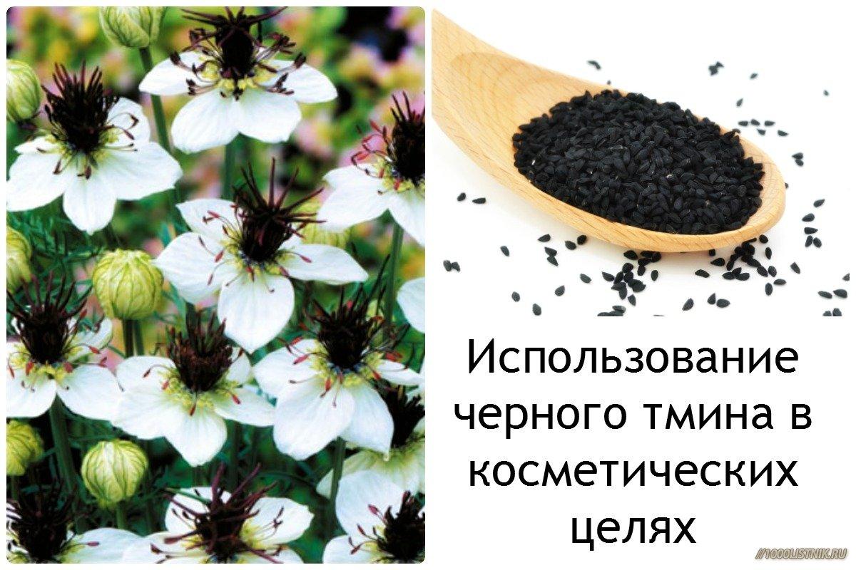Черный тмин как косметическое средство