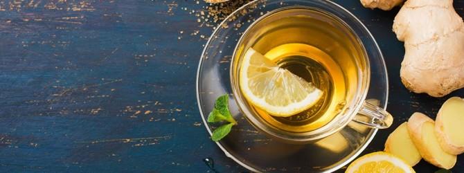 Чабречно-имбирный чай