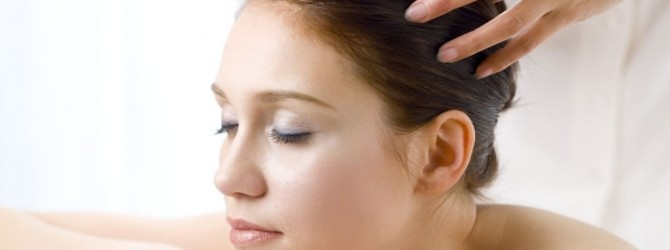 Массаж головы для снятия головной боли