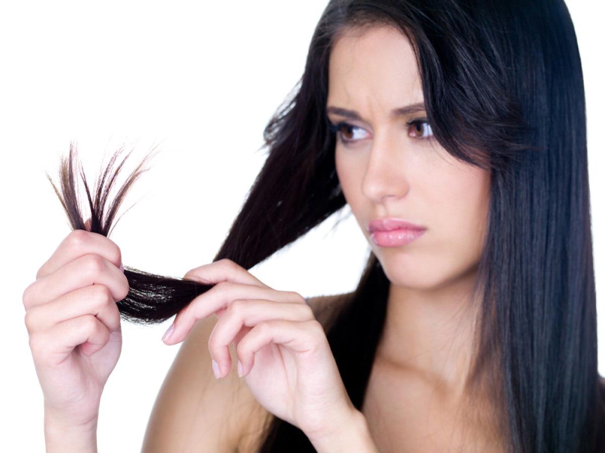 Уход за секущимися волосами с помощью народных средств