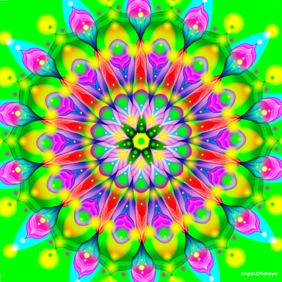 Лечебная цветомедитация