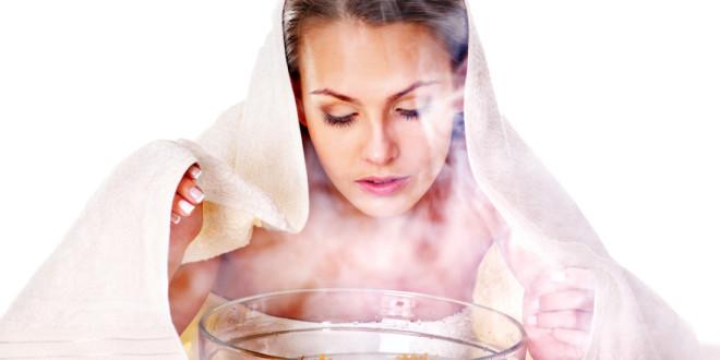 Паровая ванночка для лица от черных точек как сделать