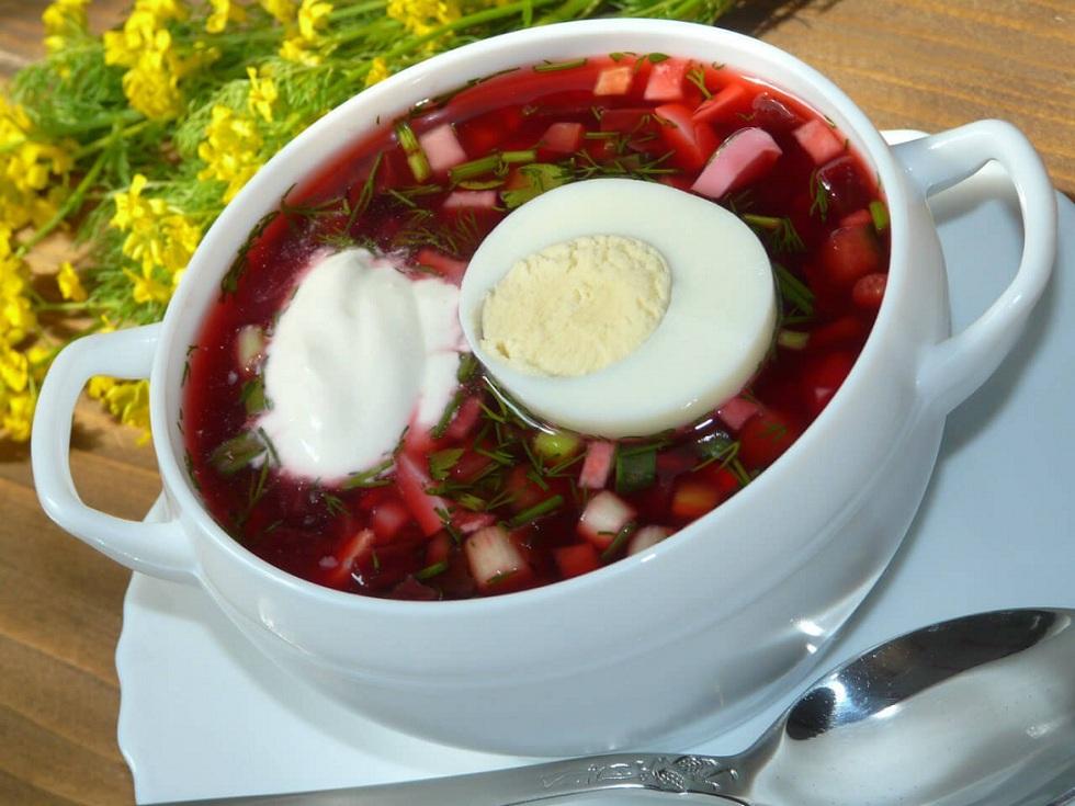 Борщи, супы, похлебки, тюри