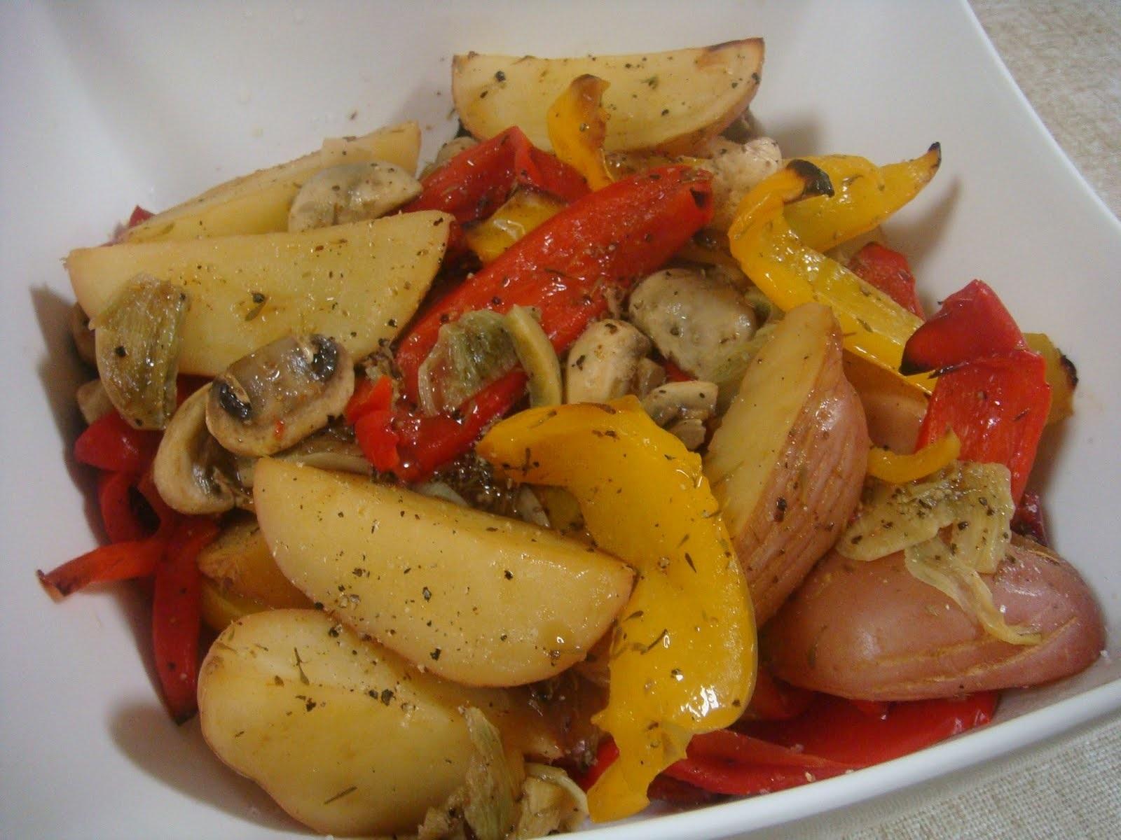 Блюда из картофеля и овощей