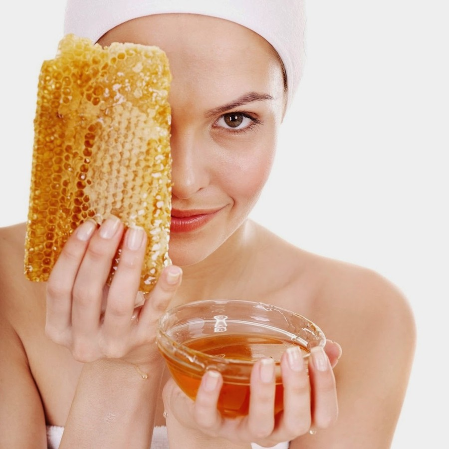 Лечение угрей медом