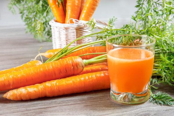 Морковь и сок из неё