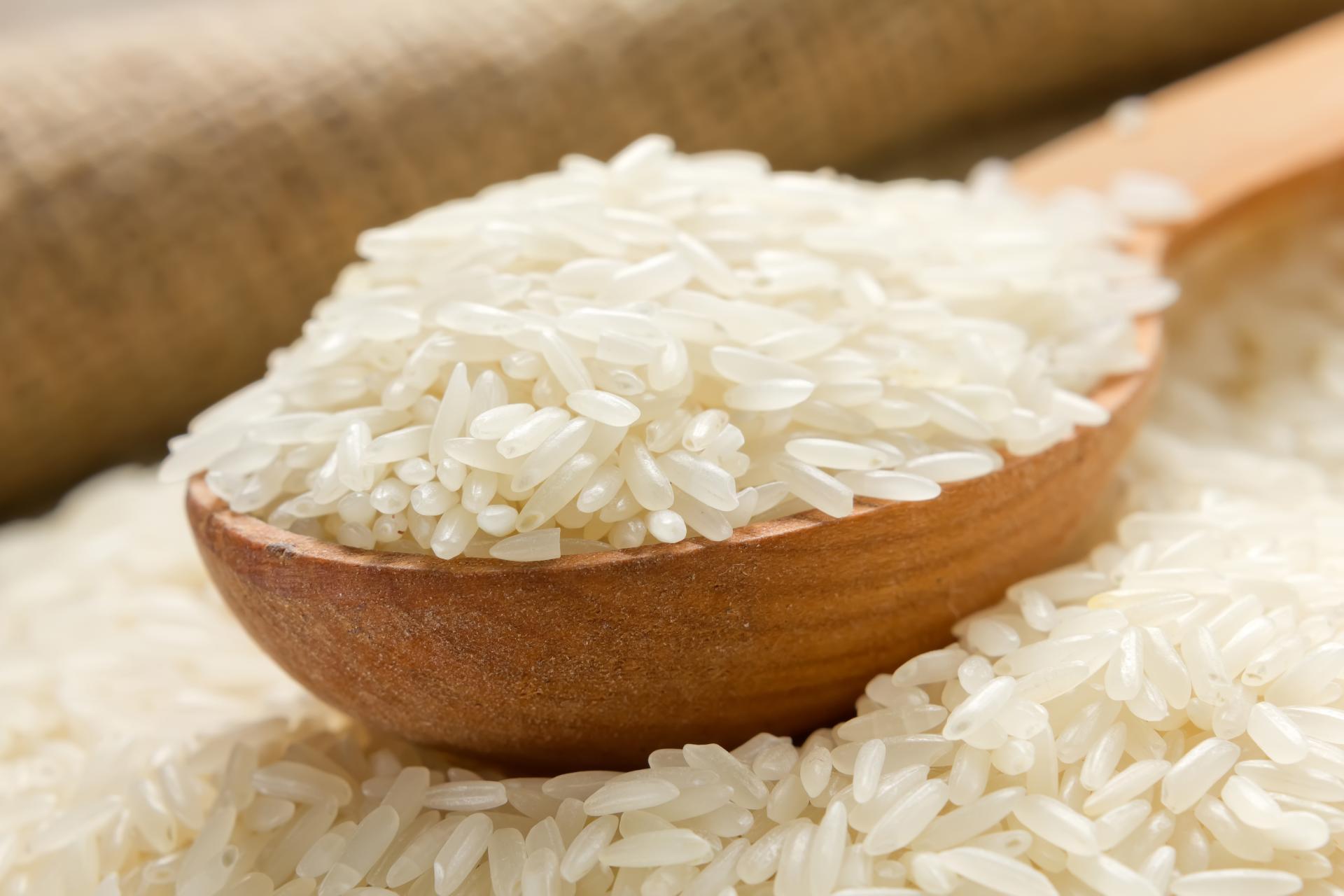 Ложка с рисом