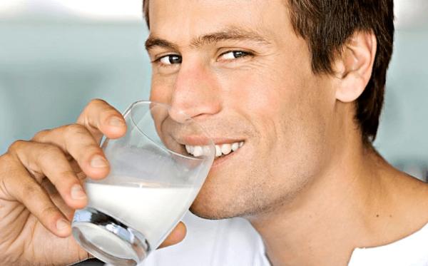 Сода с молоком