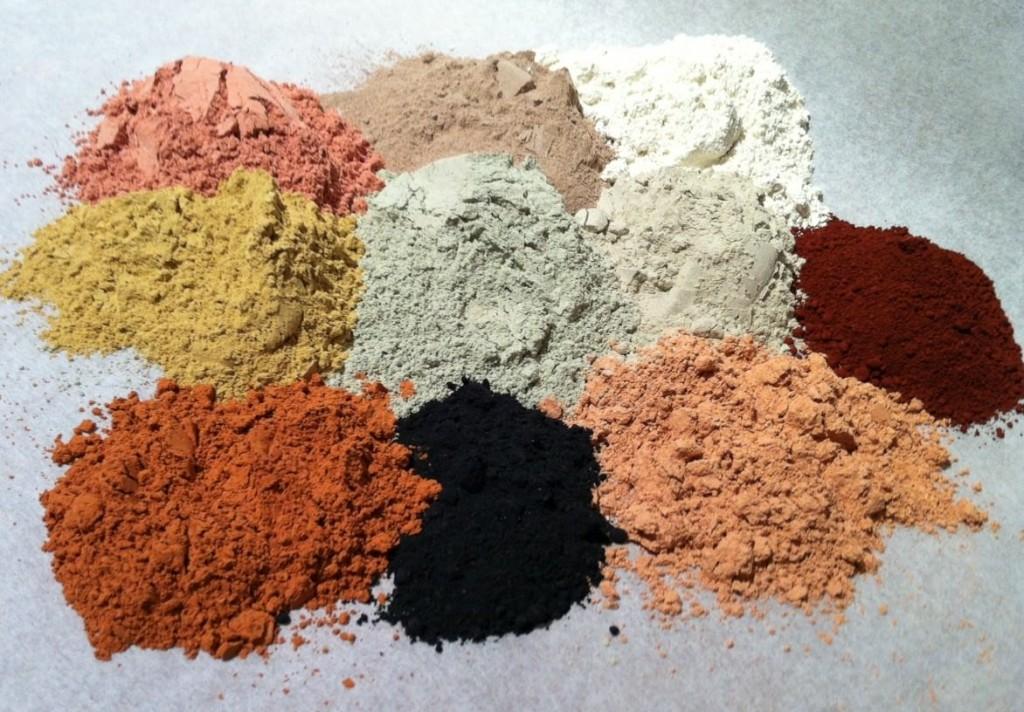 Желтая глина в домашних условиях