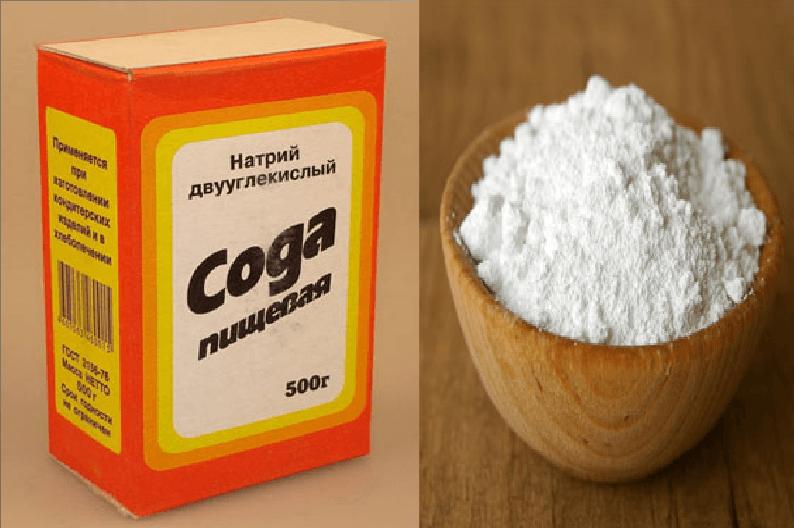 сода пищевая от паразитов