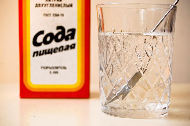 чистка содой от паразитов