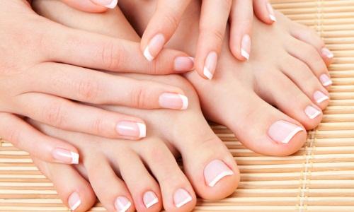Здоровые пальцы рук и ног