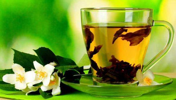 Чашка чая и жасмин