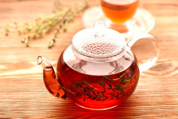 Чай от паразитов в чайнике