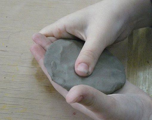 Лепёшка из глины