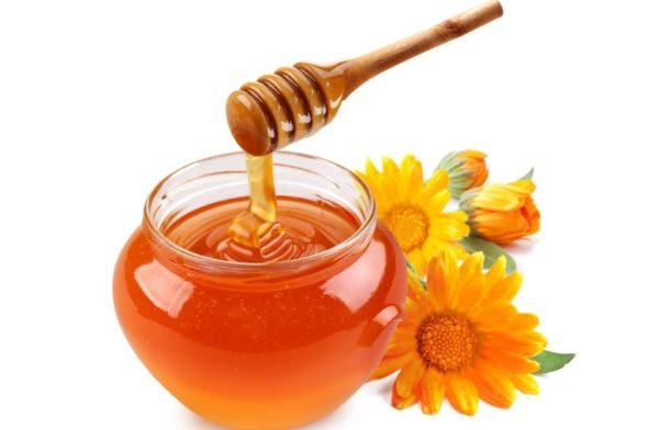 Мёд и календула