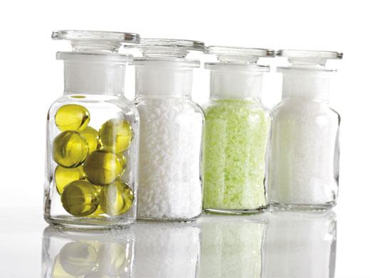 Соль и эфирные масла в банках