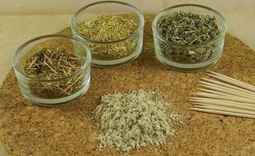 Сушёные лекарственные травы