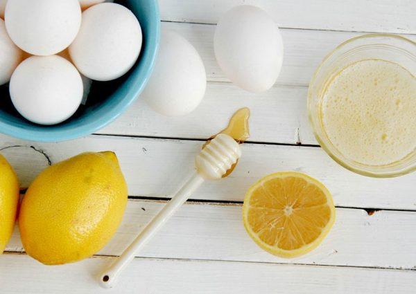 белок с лимоном
