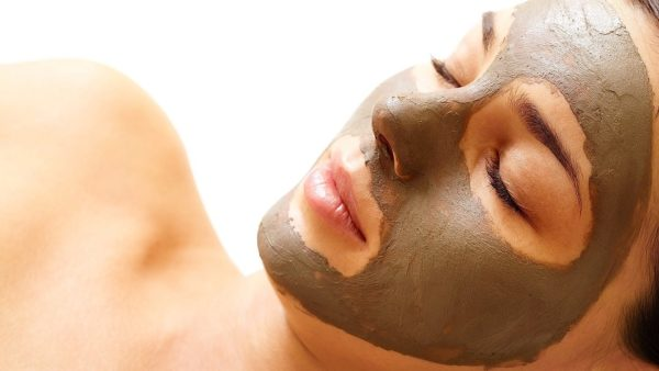 глиняная маска