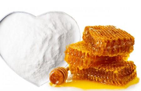 Сода с мёдом