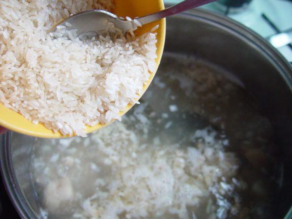 Приготовление рисовой воды