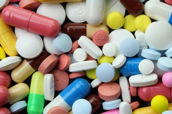 Таблетки и капсулы с лекарственным веществом