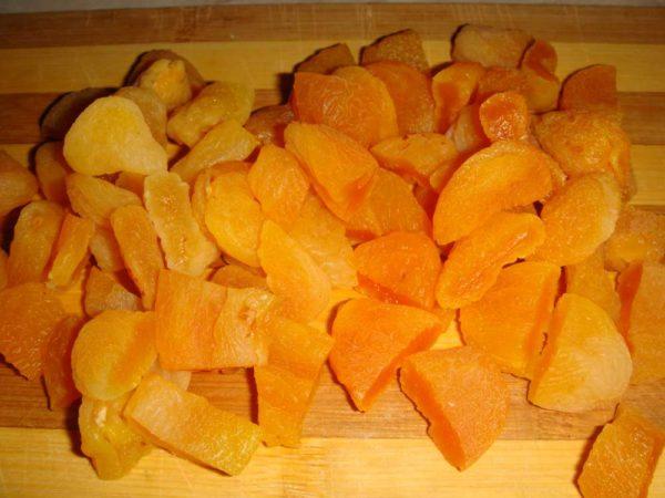 Оранжевая курага