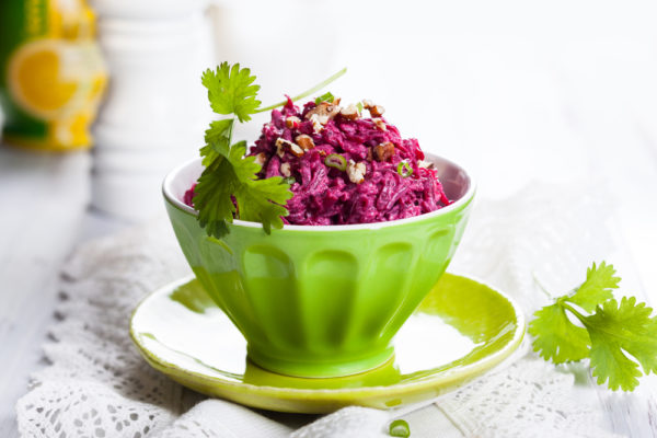 Салат из свёклы и фейхоа