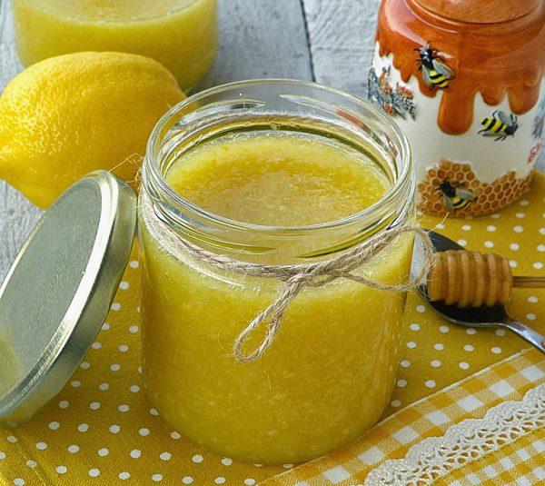 Имбирно-лимонная смесь в банке
