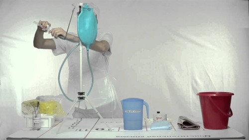 Подготовка к очистительной клизме