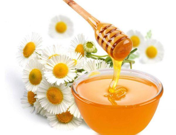 Ромашка с мёдом