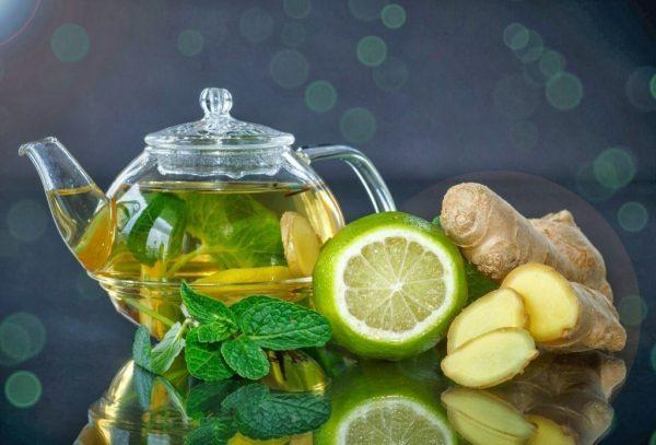 Эффективный напиток для похудения с имбирём